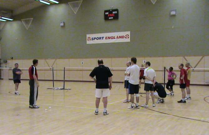 Badminton Weekend Coahcing - Group Instruction