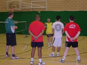 Badminton Coaching Weekend - Lilleshall Sept 2010