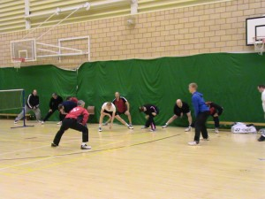 Badminton Coaching Course - Lilleshall 2010 Warm Up