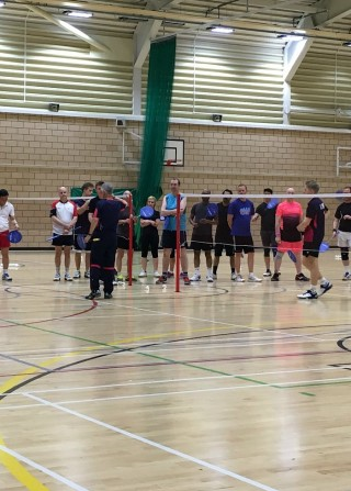Badminton coaching weekend