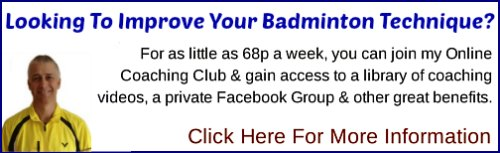 Paul Stewart Online Badminton Coaching Club