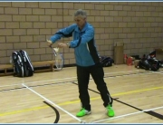 Flick Serve In Badminton