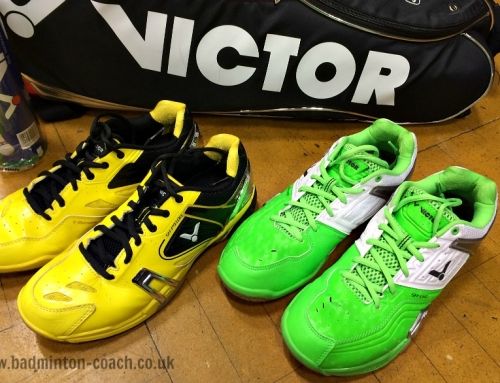Review Of SH-P9100 And LYD Victor Badminton Shoes