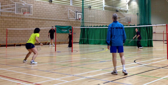 Badminton Coaching Cheshire, UK