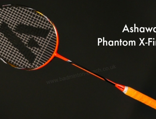 Ashaway Phantom X-Fire Badminton Racket Review