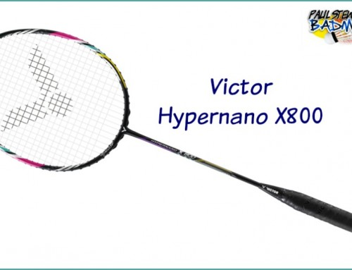 Victor Hypernano X 800 Badminton Racket Review
