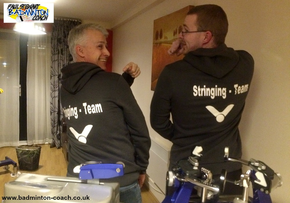 A Tale Of All Englands Badminton Stringing 2016 – Part Three