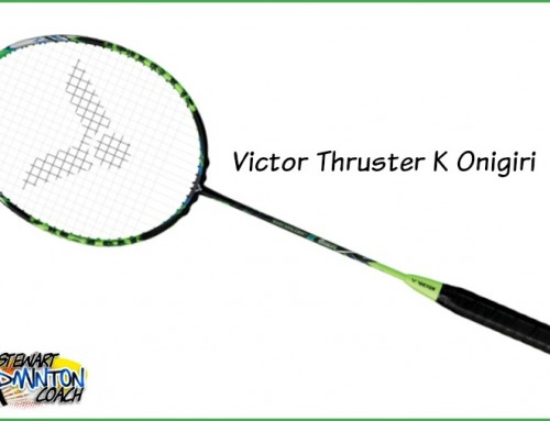 Victor Thruster K Onigiri Badminton Racket Review