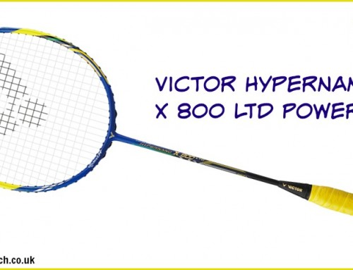 Victor Hypernano X 800 Power LTD Edition Badminton Racket Review