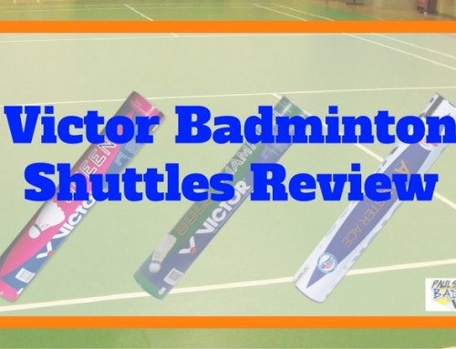 Victor Feather Badminton Shuttle Review