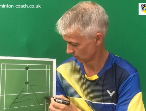 Badminton Doubles Positioning – Level Doubles Basics Part 1