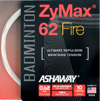 Zymax 62 Fire Badminton String