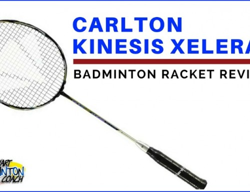 Carlton Kinesis Xelerate Badminton Racket Video Review