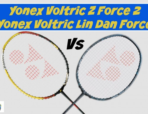 Yonex Voltric Z Force 2 versus Yonex Voltric Lin Dan Force Video Review
