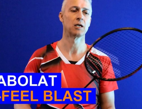 Babolat X Feel Blast Badminton Racket Video Review