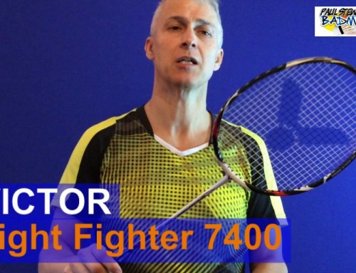 Victor Light Fighter 7400 Badminton Racket Video Review