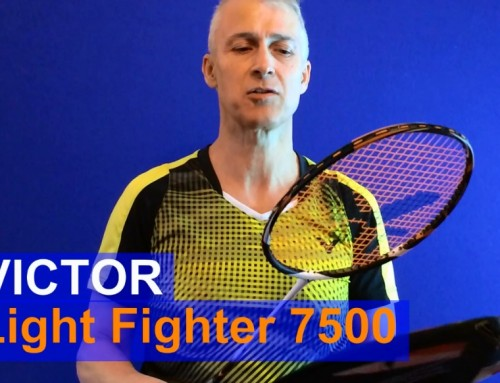 Victor Light Fighter 7500 Badminton Racket Video Review