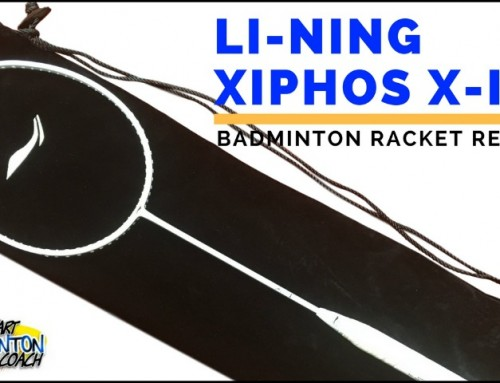 Li-Ning Xiphos X-1 Badminton Racket Written Review