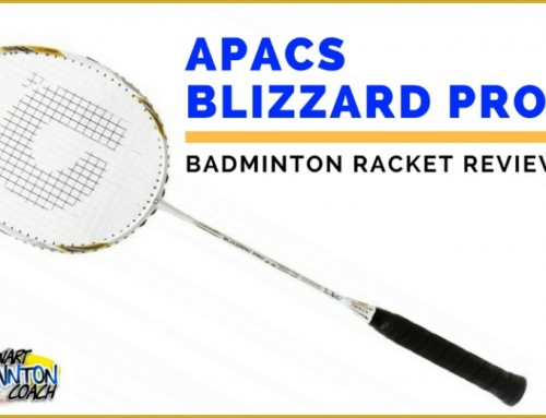 APACS Blizzard Pro ZZ Badminton Racket Review