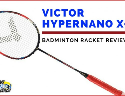 Victor Hypernano X 900 Badminton Racket Written Review