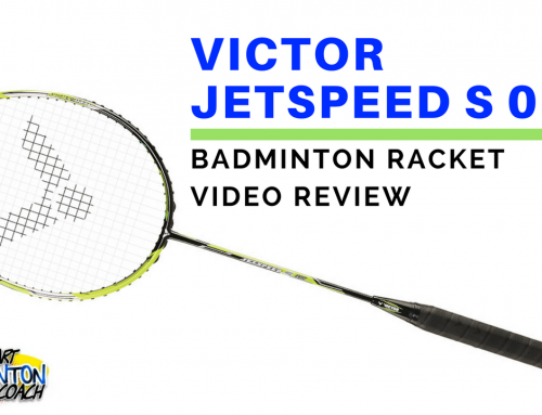 Victor Jetspeed S 08 Badminton Racket Video Review