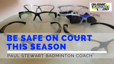 Badminton Safety Glasses