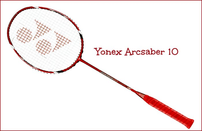 Arcsaber 10 Racquet Review