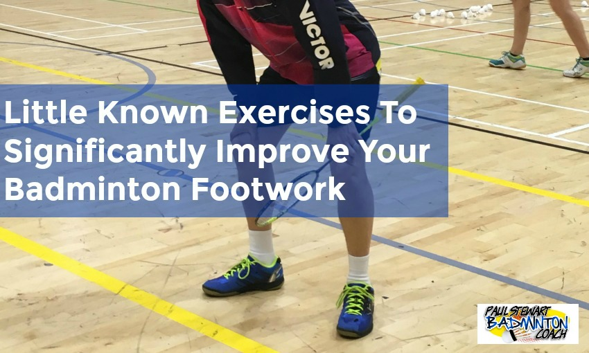 Badminton Footwork Exercises