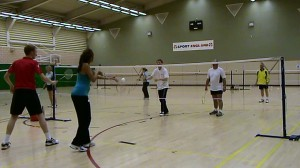 Uk Badminton Coaching Action