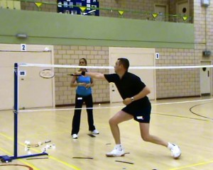 Badminton Coaching In Action
