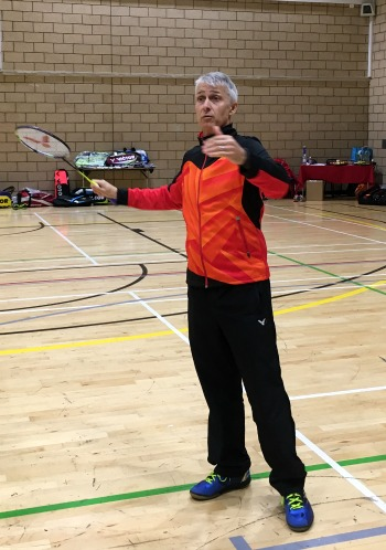 Paul Stewart Advanced Badminton Coach