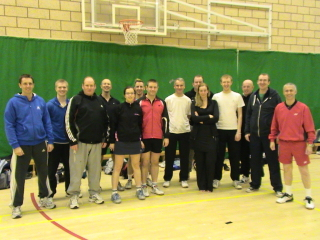 Lilleshall Badminton Coaching 2010