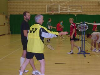 Paul Stewart Badminton Coaching 2010