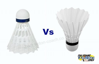 Plastic vs Feather Shuttlecock