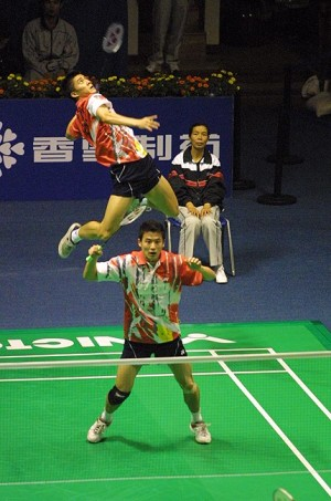 Badminton Jump Smash
