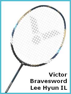 Victor Bravesword Lee Hyun IL Badminton Racket