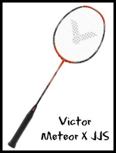 Victor Meteor X JJS Badminton Racket