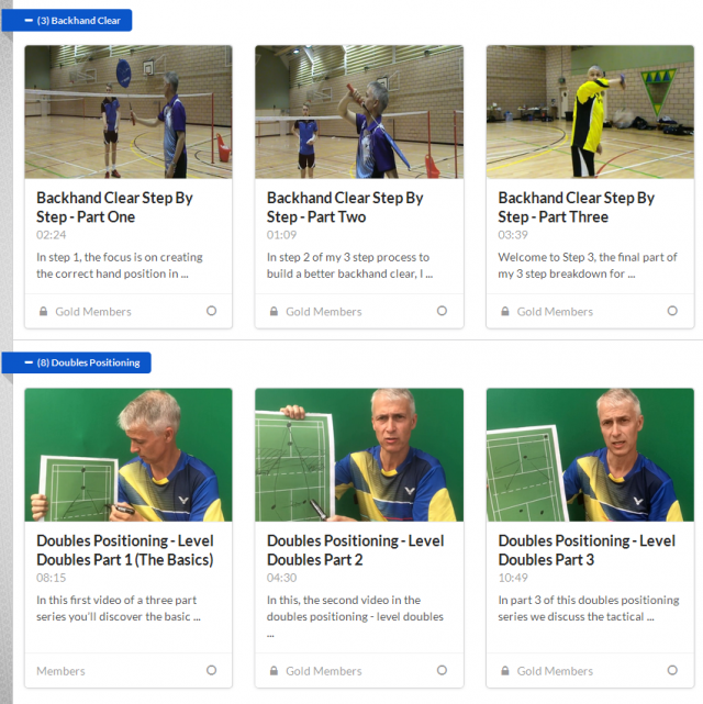 Online Badminton Coaching Club