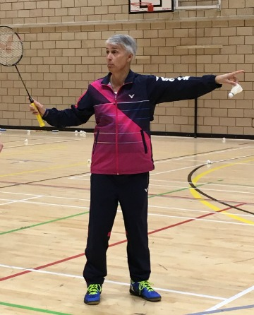 Paul Stewart International Advanced Badminton Coach