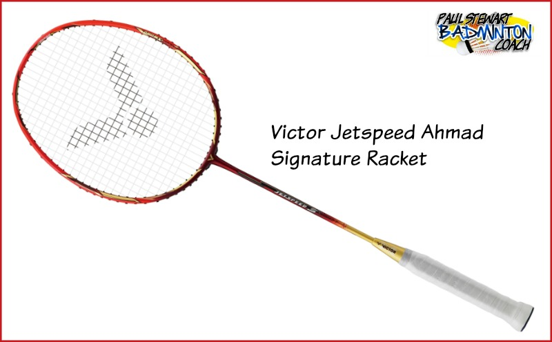 Victor Jetspeed Ahmad Signature Badminton Racket