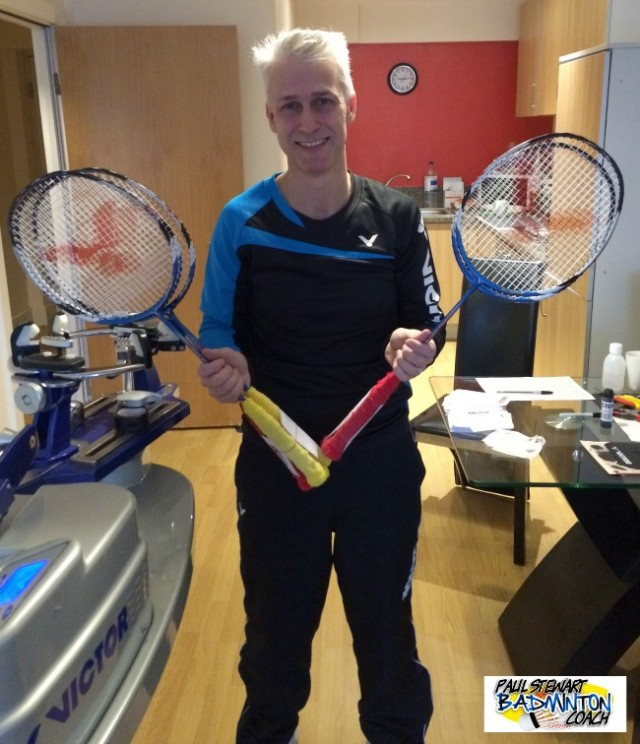 Badminton Stringing