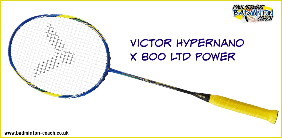 Hypernano X 800 Power LTD Edition Badminton Racket