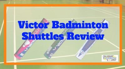 Victor Badminton Shuttles