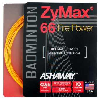 Ashaway Zymax 66 Fire Power Badminton String