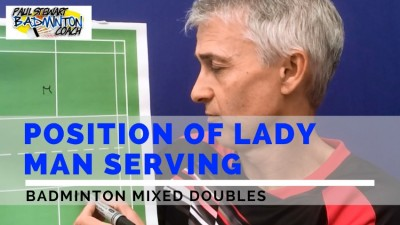 Positioning Badminton Mixed Doubles