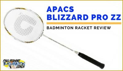 APACS Blizzard Pro ZZ Badminton Racket