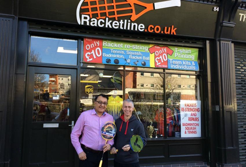 Racketline Shop Front
