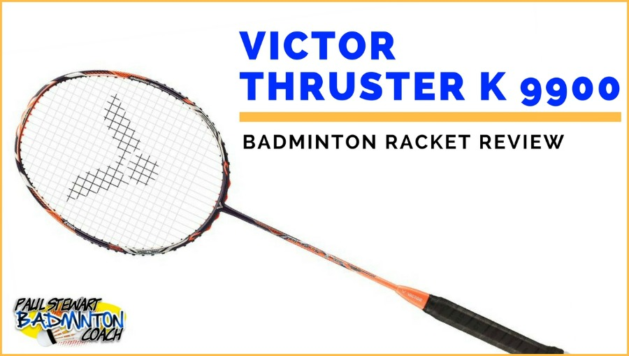 Victor Thruster K 9900 Badminton Racket Neon Orange