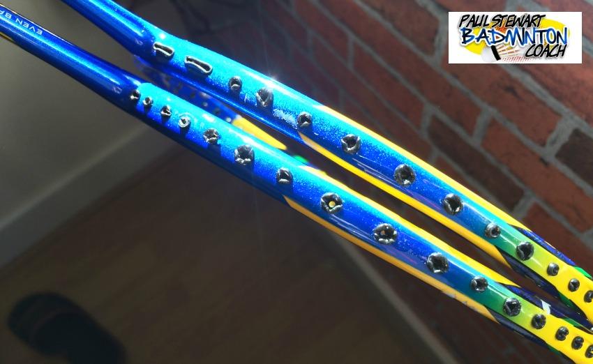 Badminton Racket Grommet Inspection