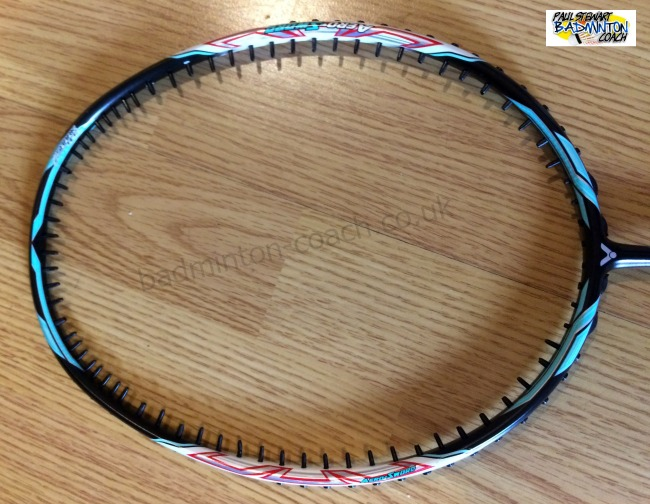 Badminton Racket Maintenance - Full Regrommet